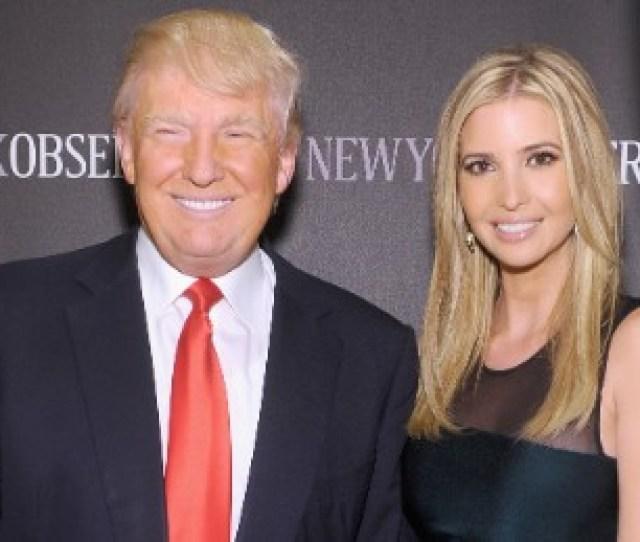 New York Ny April 01 Donald Trump And Ivanka Trump Attend The New