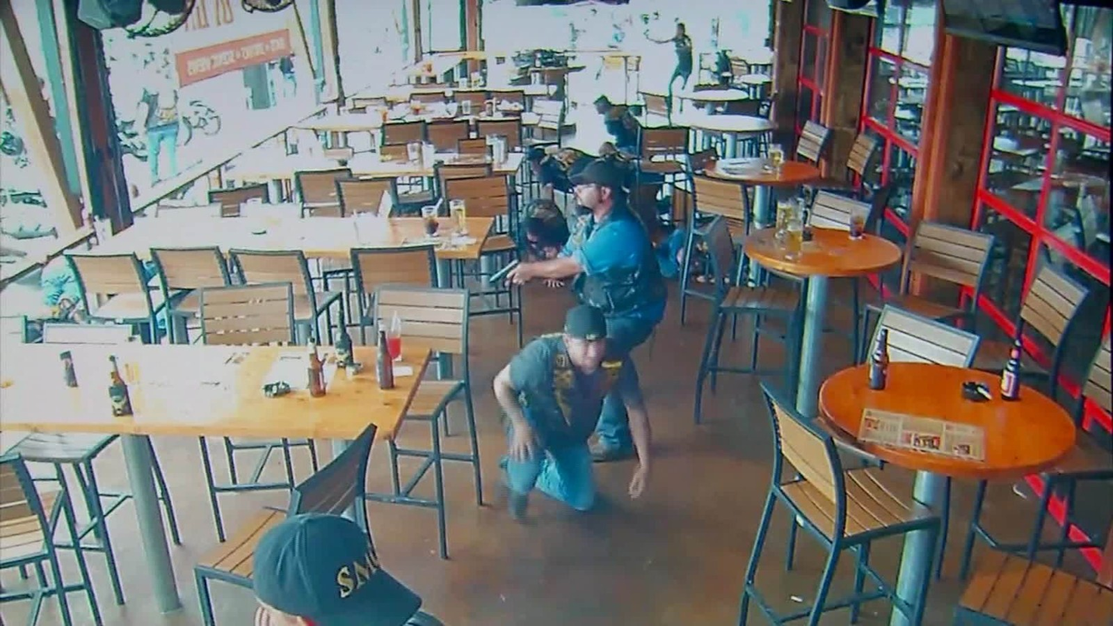Waco biker shooting surveillance video released - CNN Video