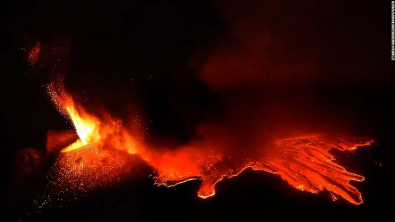 """<strong>Mustafar (Mount Etna, Italy): </strong>By the magic of cinematic special effects, the lava flows on Sicilian volcano Etna provided the hellish backdrop for a battle scene between Obi-Wan and Anakin in """"Revenge of the Sith."""""""