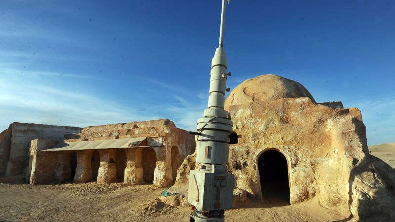 <strong>Mos Espa (Oung Jmel, Tunisia): </strong>Sets depicting the spaceport of Mos Espa on Anakin and Luke Skywalker's home planet Tatooine are still standing near the Tunisian town of Nefta.