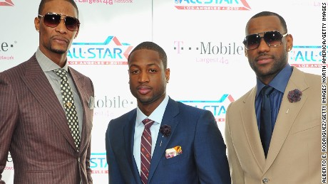 NBA fashion: Miami's Big Three dressed to impress