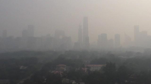 Image result for smog in beijing