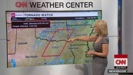 Tornado confirmed on the ground in Texas   CNN Video Tornado confirmed on the ground in Texas