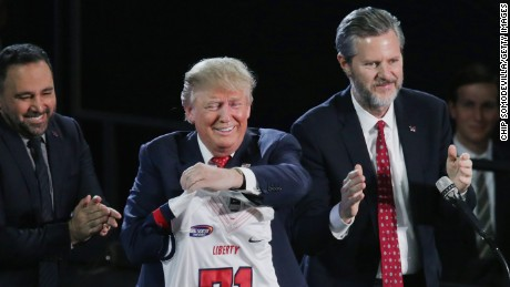 As Trump seeks re-election, chapter ends on Falwell era of religious right