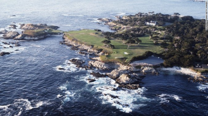 16th, Cypress Point, California.