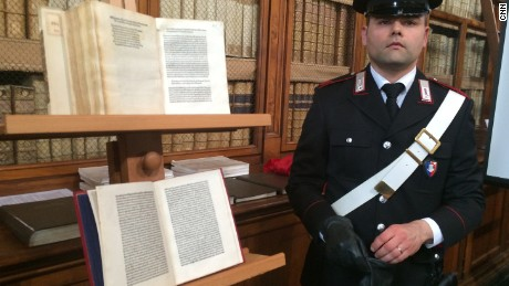 From 2016: Christopher Columbus letter returned to Italy