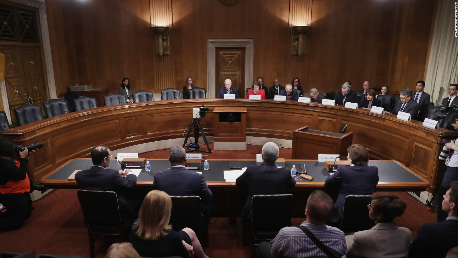 Image result for PHOTOS OF US SENATE JUDICIARY COMMITTEE AT WORK