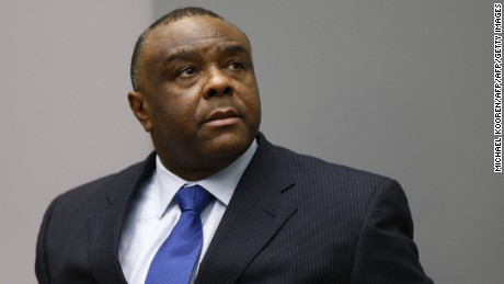 Celebrations in Congo as former warlord Bemba returns