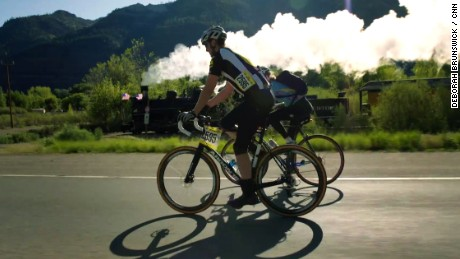 Bike vs. train: A classic showdown
