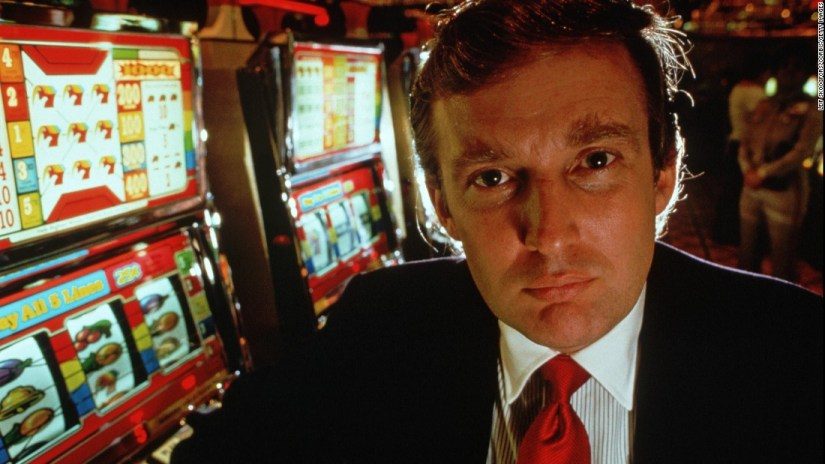 Image result for young donald trump casino
