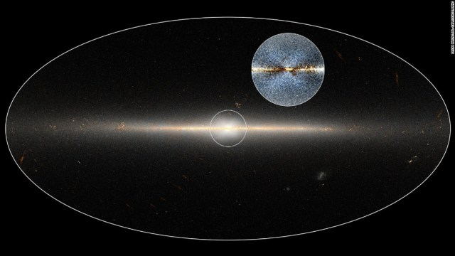 At the center of our galaxy, the Milky Way, researchers discovered an X-shaped structure within a tightly packed group of stars.