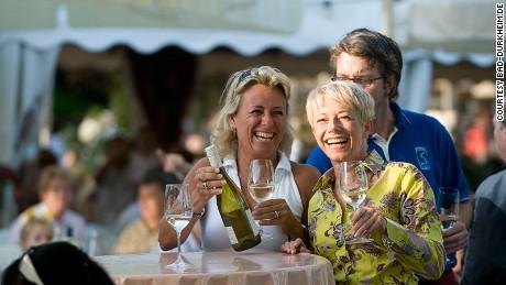 Wurstmarkt -- world's largest wine festival