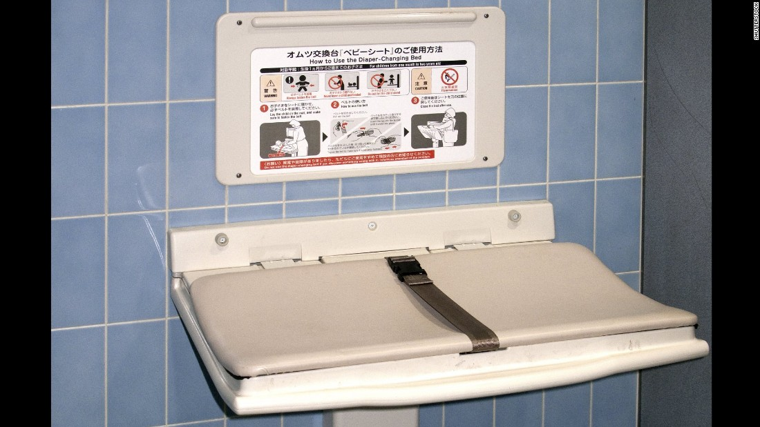 Diaper Changing Stations Restrooms