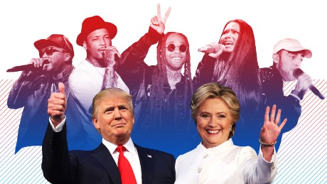 How hip-hop turned on Trump and settled for Clinton in 2016
