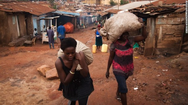 Almost 20% of Uganda's population live below the poverty line, according to The World Bank.