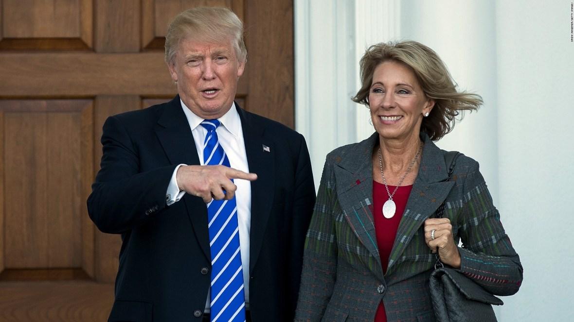 Betsy DeVos picked for Trump's education secretary - CNNPolitics