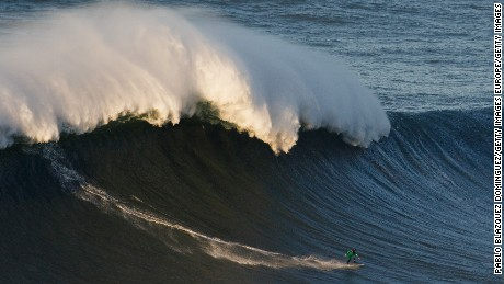 The surfer searching for 100-foot giants