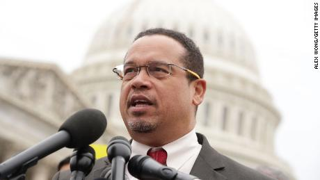 Keith Ellison wins AG nomination in Minnesota after denying abuse allegations