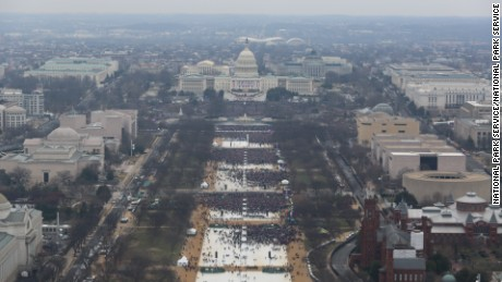 It took FOIA for Park Service to release photos of Obama, Trump inauguration crowd sizes
