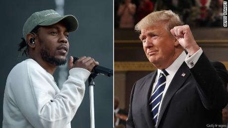 Kendrick Lamar blasts Trump on Russia: 'Ya'll up to somethin'