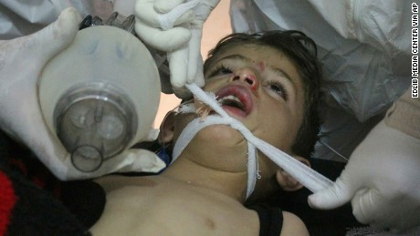 Why children get killed with barrel bombs and chemical attacks