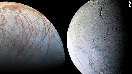 Europa Enceladus