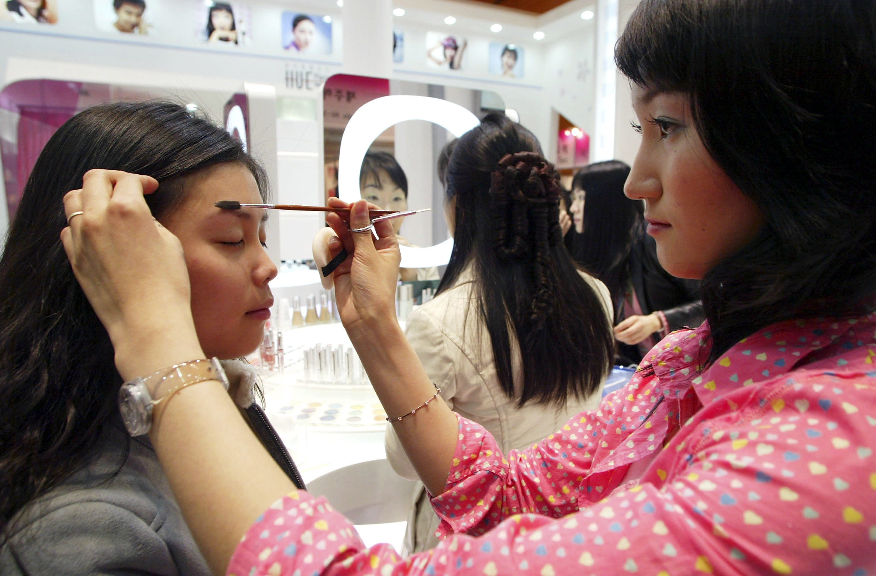 Image result for Tokyo women are fastest at applying makeup in Asia
