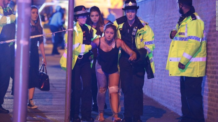 22 dead after blast at Ariana Grande concert in Manchester