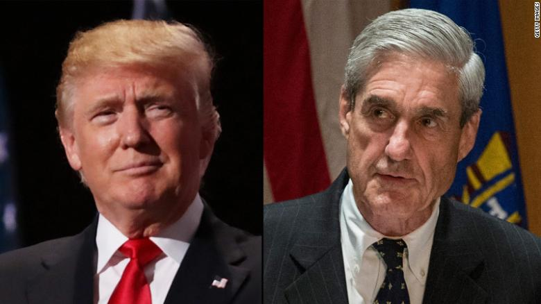 Trump's responses to 2 key Mueller questions