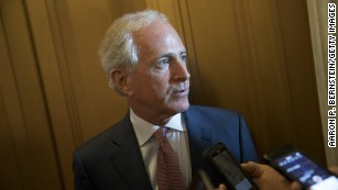 Donald Trump and Bob Corker: A timeline