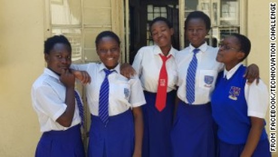 The Kenyan teenagers tackling female genital mutilation with an app