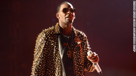 R. Kelly during the 2013 BET Awards