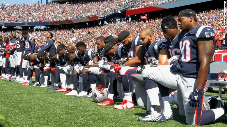 Image result for nfl kneeling