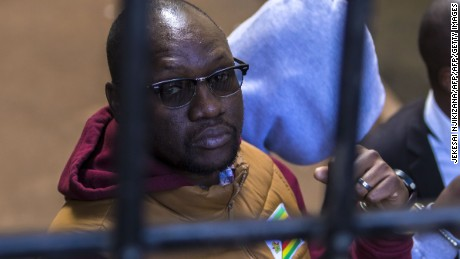 Activist Pastor Evan Mawarire arrested in Zimbabwe for 'inciting violence on social media'