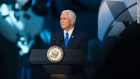 Mike Pence says administration wants Americans back on the moon in 5 years