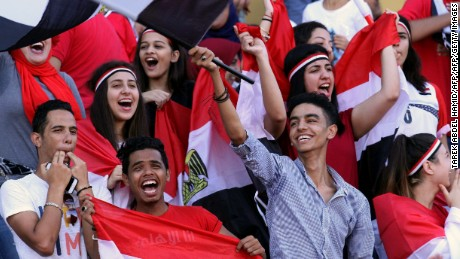 Egypt supporters are hoping Salah can fire their team into the knockout phase.