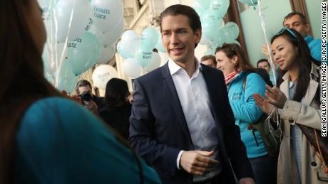 Sebastian Kurz became Chancellor of Austria in December.