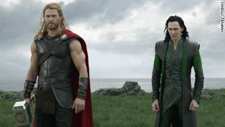 Image result for 'Thor: Ragnarok' flexes its comedy muscles