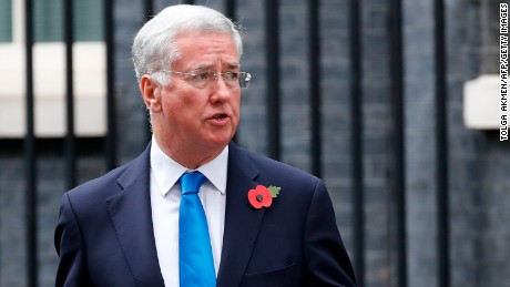 Michael Fallon resigned after saying his conduct fell short of the high standards expected.