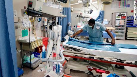 When the hospital looks like a 'war zone'