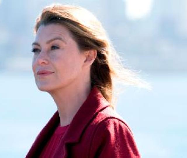 Ellen Pompeo As Dr Meredith Grey In The 300th Episode Of Grey