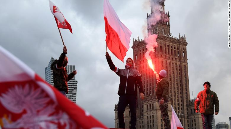 Poland regained its independence in 1918.