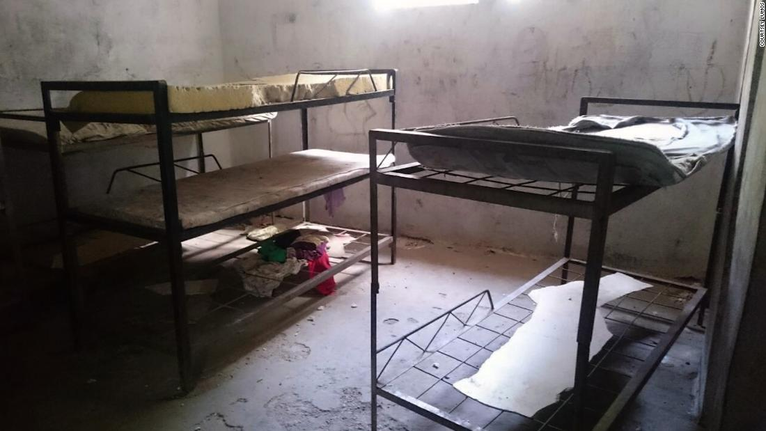 A room at Four Winds Spirit Orphanage, Haiti. It was shut down after being cited as one of the worst orphanages in the country. Photo Courtesy Lumos.