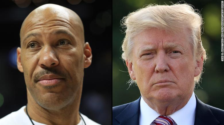 Image result for Trump to LaVar Ball: 'I should have left them in jail!'