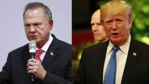 Trump: We need Republican Roy Moore to win