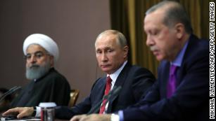 Russia, Iran, Turkey agree to hold Syrian 'congress' to talk peace
