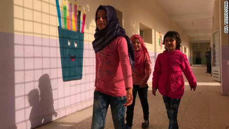 Children in Jarablus return to school after being deprived of an education for years.