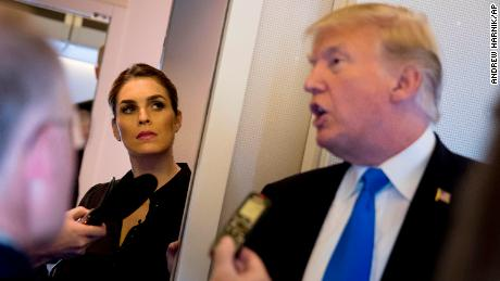 Hope Hicks: A witness to Trump's rise
