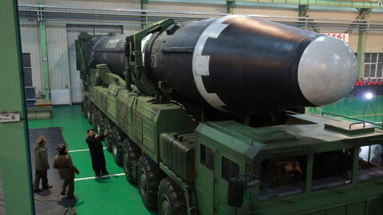 Image result for Hwasong-15 ICBM, photos