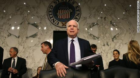 'A warrior in every sense of the word': Politicians react to news McCain discontinuing treatment